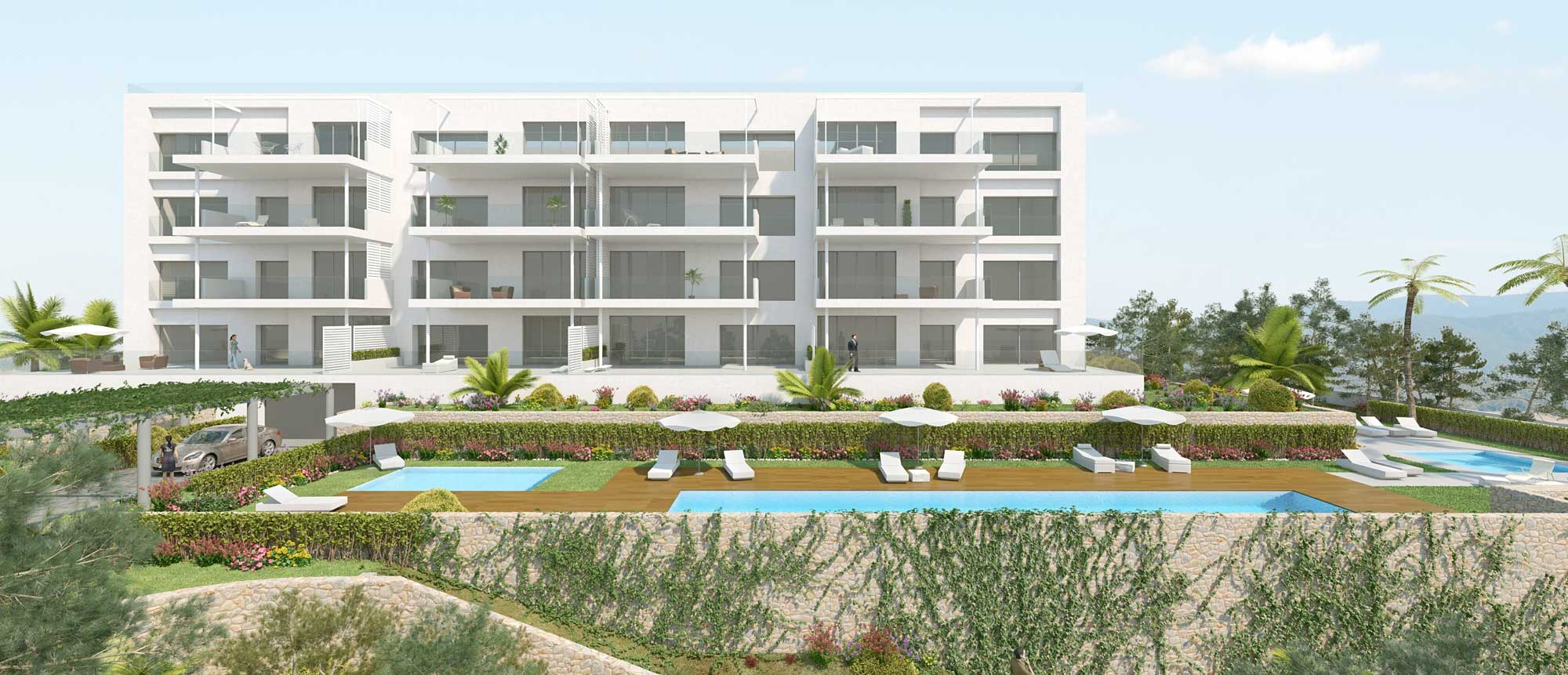Apartments, Spanish Golf Property